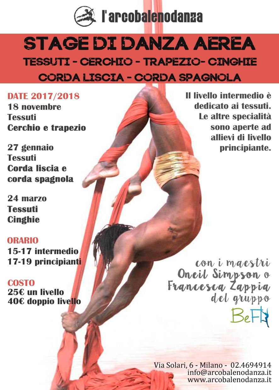 STAGE TESSUTI E CERCHIO